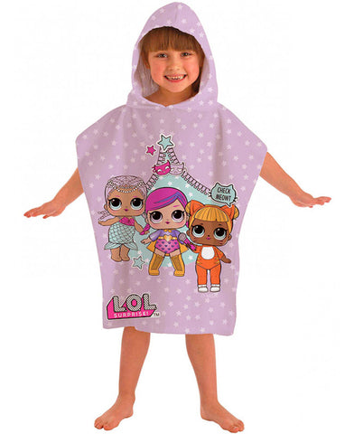 LOL Surprise Hooded Towel Poncho