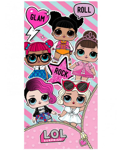 NEW LOL Surprise Glam Beach Towel