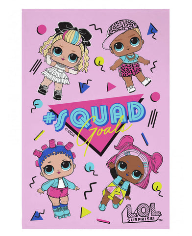 LOL Surprise Squad Goals Fleece Blanket