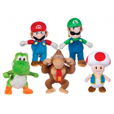 Super Mario Plush set 30cm