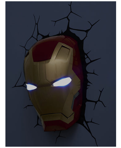 Marvel Iron Man 3D LED Wall Light