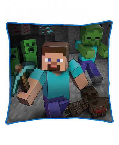 Minecraft Creeps Square Cushion
