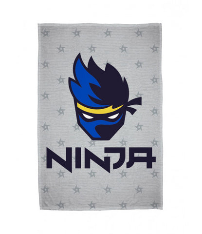 Ninja Games Flannel Fleece Blanket