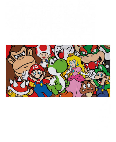 Nintendo Super Mario Gang Towel