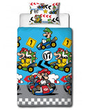 Nintendo Mario Direction Single Duvet Cover Set