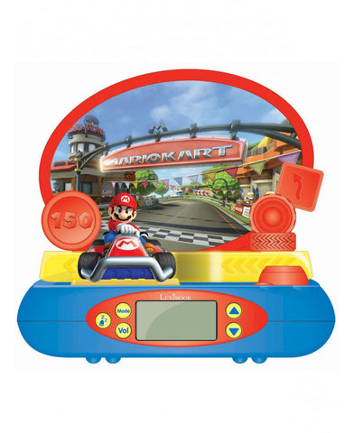 Nintendo Mario Kart Night Light Alarm Clock Projector