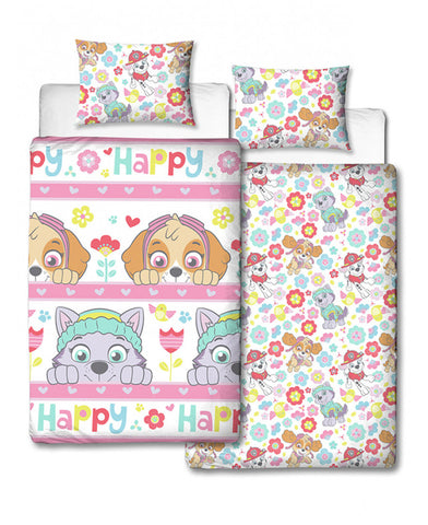 Paw Patrol Bright Single Duvet Cover Set