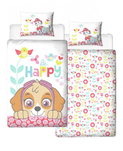 Paw Patrol Skye Single Duvet Cover Set