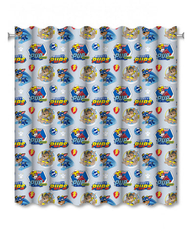 Paw Patrol Super Curtains Set (66in wide (168cm) x 54in drop (137cm)