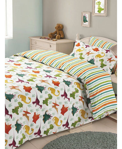 *NEW* Dinosaur Double/Queen Duvet Cover and Pillowcase Set