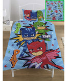 *NEW* PJ Masks Save The Day Single Duvet Cover Set