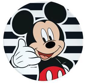 Mickey Mouse Round Plate