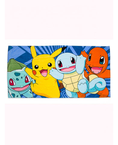 Pokemon Catch Beach Towel