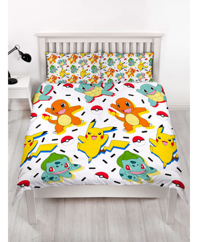 *NEW* Pokémon Double/Queen Duvet Cover and Pillowcase Set