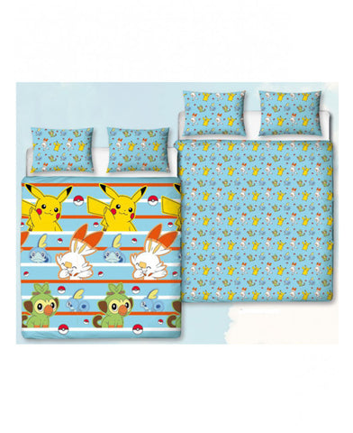 Pokémon Jump Double/Queen Duvet Cover and Pillowcase Set