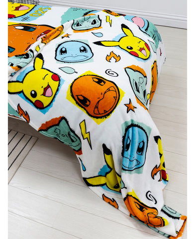 Pokémon Rocks Fleece Blanket
