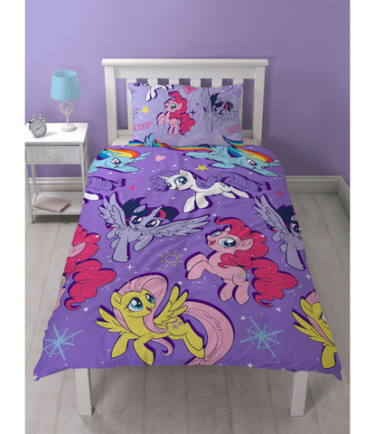 My Little Pony Movie Single Duvet Cover Set