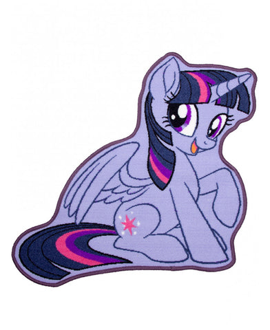 My Little Pony Twilight Sparkle Shaped Rug