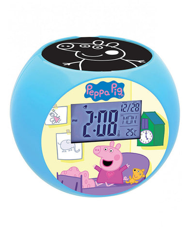 Peppa Pig Alarm Clock /Radio/ Projector