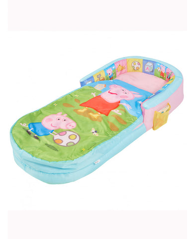 Peppa Pig and George Junior Ready Bed Sleepover Solution/Sleeping Bag