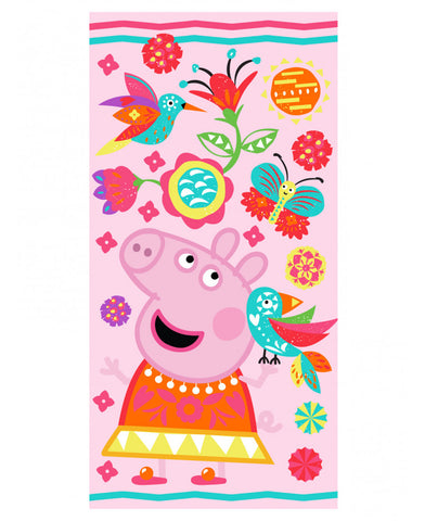 Peppa Pig Fiesta Beach Towel