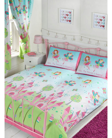 Princess Is Sleeping Double/Queen Duvet Cover And Pillowcase Set