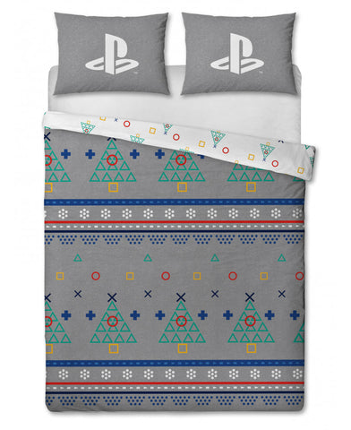 Playstation Jumper Double/ Queen Christmas Duvet Cover Set