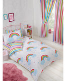 Rainbow Sky Double /Queen Duvet Cover and Pillowcase Set