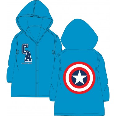 Marvel Avengers Captain America Raincoat