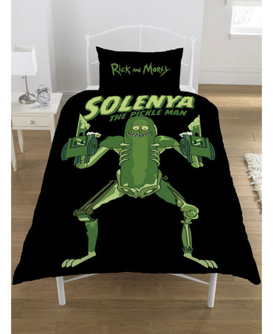 Rick And Morty Pickle Rick Single Duvet Cover Set