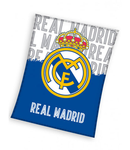 Real Madrid CF Crest Fleece Blanket