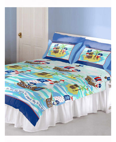 Pirates Double/Queen Duvet and Pillowcase Set