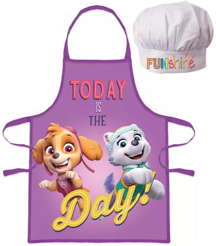 Paw Patrol Skye Kids Apron and Chef Hat Set