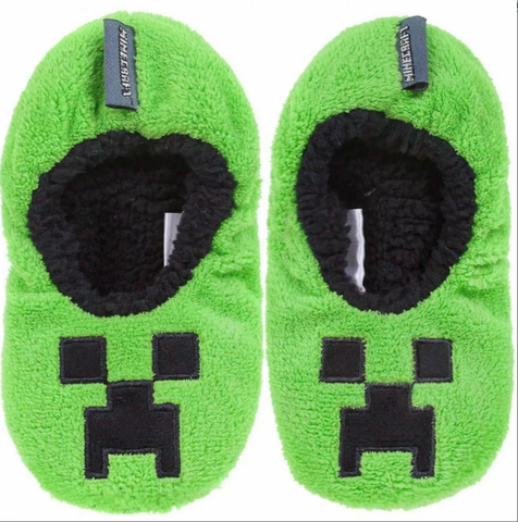 Minecraft Winter Slippers