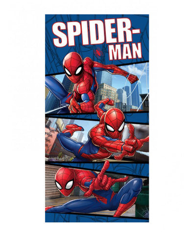 Spiderman Blue Beach Towel
