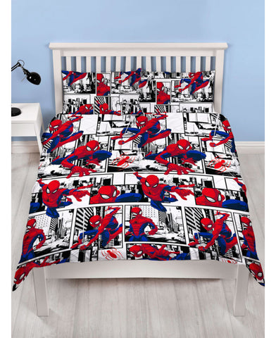 *NEW* Spiderman Double/Queen Duvet Cover and Pillowcase Set