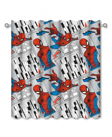 Spiderman Flight Curtains  66in wide (168cm) x 54in drop (137cm)