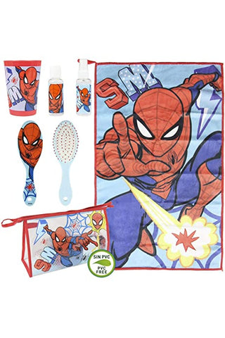 Spiderman  Travel Set/Toiletry set/Vanity set