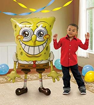 Air Walker Spongebob Foil Balloon