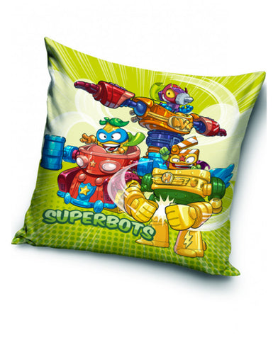 Super Zings Superbots Filled Cushion