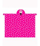 Flamingo Hooded Blanket