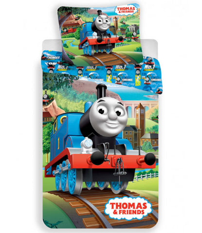 Thomas & Friends Track Single Cotton Duvet Cover Set
