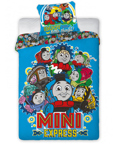 Thomas and Friends Minis Single Duvet Cover Set