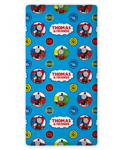 Thomas and Friends Single Fitted Sheet