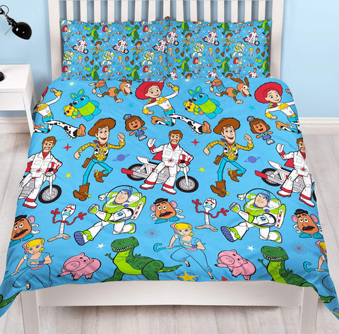 Toy Story 4  Double/ Queen reversible Duvet Cover Set