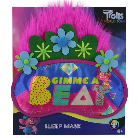 Trolls 2 Sleep Mask