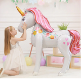 Air Walker Magical Unicorn World Foil Balloon