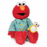 Bedtime Glow in the dark Elmo with night light