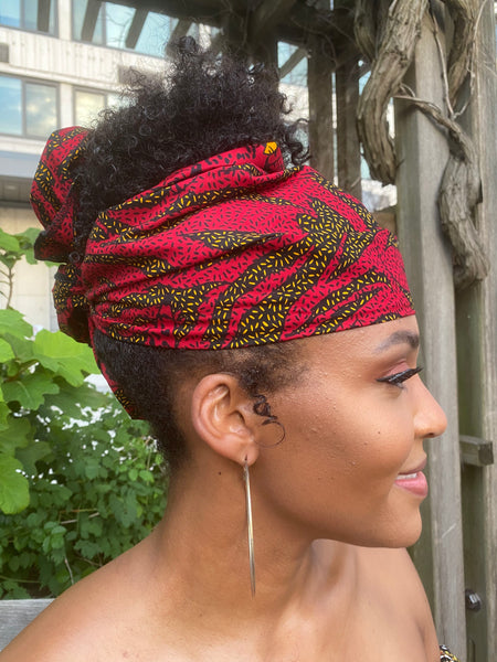 Blaze Headwrap - Red Base