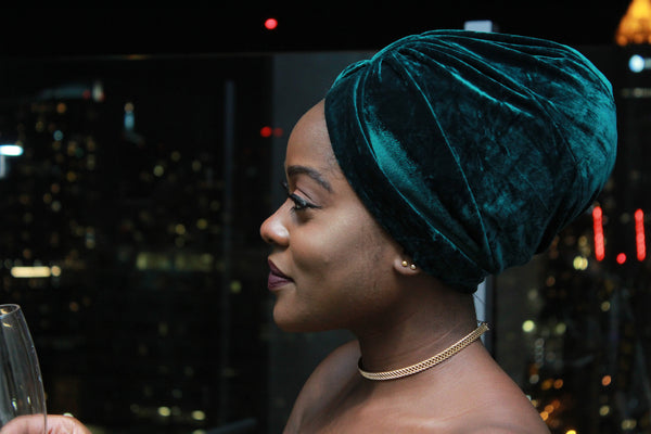 Emerald - Turban Cap (FINAL SALE)